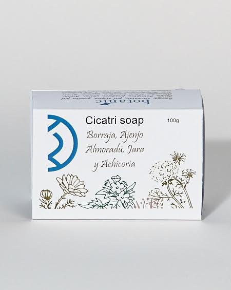 Jabón cicatrizante