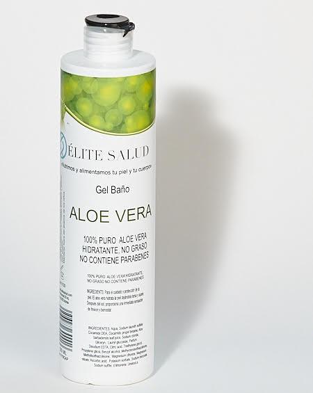 Gel de baño de pulpa Aloe Vera 100%