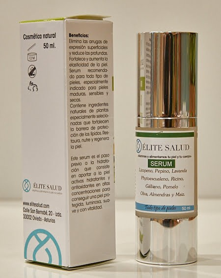 Serum facial orgánico rellenador BioHerb
