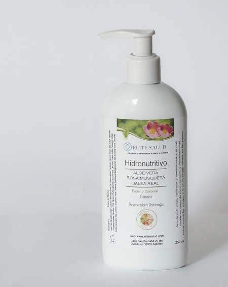 Crema corporal y facial Hidronutritiva