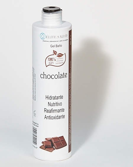 Gel de baño de chocolate