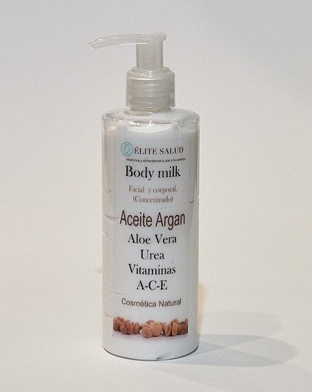 Body Milk de Argan y Aloe Vera